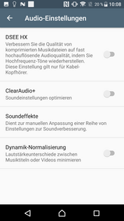 Software Sony Xperia XZ Premium