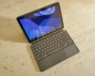 The Lenovo Chromebook Duet makes for a great mobile companion. (Image: Notebookcheck)