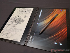 Lenovo Yoga Book C930 comes with an impressive 1080p 10.8-inch E-ink touchscreen (Source: Lenovo)