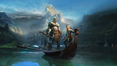 Kratos has to deal with beasts found in Norse mythology in the latest God of War game. (Source: Sony)