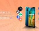 The C3 will launch with the OEM's new UI. (Source: Realme)