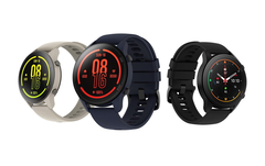 The Mi Watch will be available in six colours. (Image source: Xiaomi)