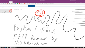 Digitizer test with OneNote