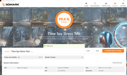 Time Spy stress test