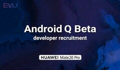 Huawei is now inviting developers with the Mate 20 Pro to test Q Beta 3. (Source: Huawei)