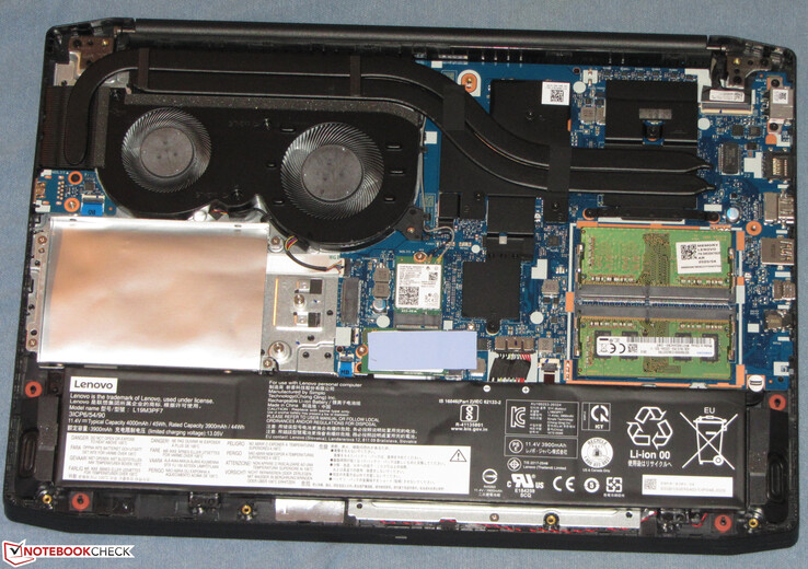 The hardware in the IdeaPad Gaming 3i 15IMH05