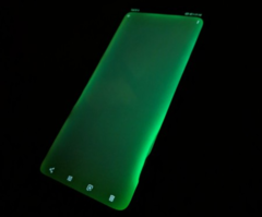 Some Huawei Mate 20 Pro devices have been exhibiting excessive green-tinted bleeding. (Source: GSMArena)