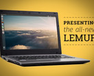 System76 Lemur laptop with 14-inch display and Intel Broadwell