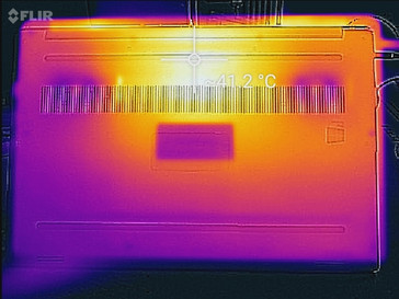 Thermal profile, underside, Witcher 3 stress
