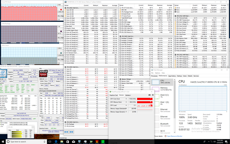 Intel Hades Canyon NUC8i7HVK (i7-8809G, Radeon RX Vega M GH