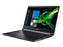 In review: Acer Aspire 7 A715-74G-50U5. Test model provided by: