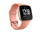 The Fitbit Versa smartwatch offers 24/7 heart-rate tracking and can store and play music files. (Source: Fitbit)