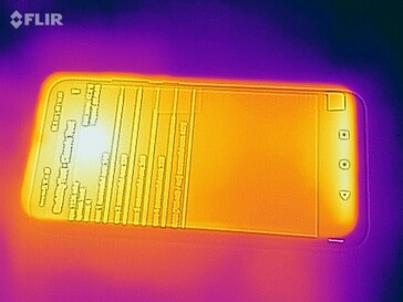 Thermal image - Front