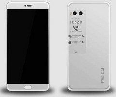 Meizu Pro 7 unofficial render shows secondary screen on the back