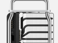 The massive custom heatsink found in the new Mac Pro. (Source: Apple)