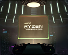 The AMD Ryzen Threadripper 3990X has a boost clock of 4.3 GHz. (Image source: AMD)