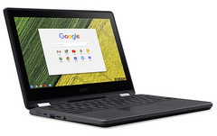 Acer Chromebook Spin 11 (R751T) rugged convertible for educational use