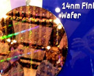 Samsung first generation 14 nm FinFET wafer