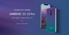 The UMIDIGI Z2 and Z2 Pro are decently-powered phones with some distinctly 2018 features. (Source: GizmoChina)