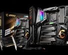 The MSI MEG Z390 Godlike motherboard supports the LGA 1151 socket, so not Comet Lake. (Image source: MSI)