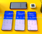 Two versions of the Mi 11 go head to head. (Source: YouTube)