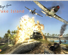 EA DICE reimagines Wake Island 17 years on from its original release. (Image source: EA)