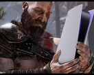 The PS5 was made for Kratos. (Image source: @BT_BlackThunder)
