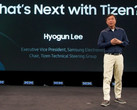 Hyogun Lee during the Samsung Tizen Developer Conference 2017 keynote