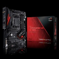 The ROG CROSSHAIR VII HERO will not support Ryzen 5000 processors. (Image source: ASUS)