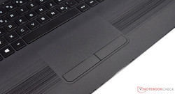 Touchpad of the HP Pavilion 17-x110ng