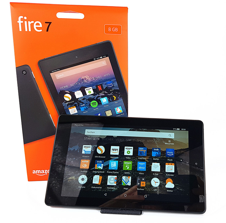 b62d89eb5fbe8f Amazon Fire 7 (2017) Tablet Review - NotebookCheck.net Reviews