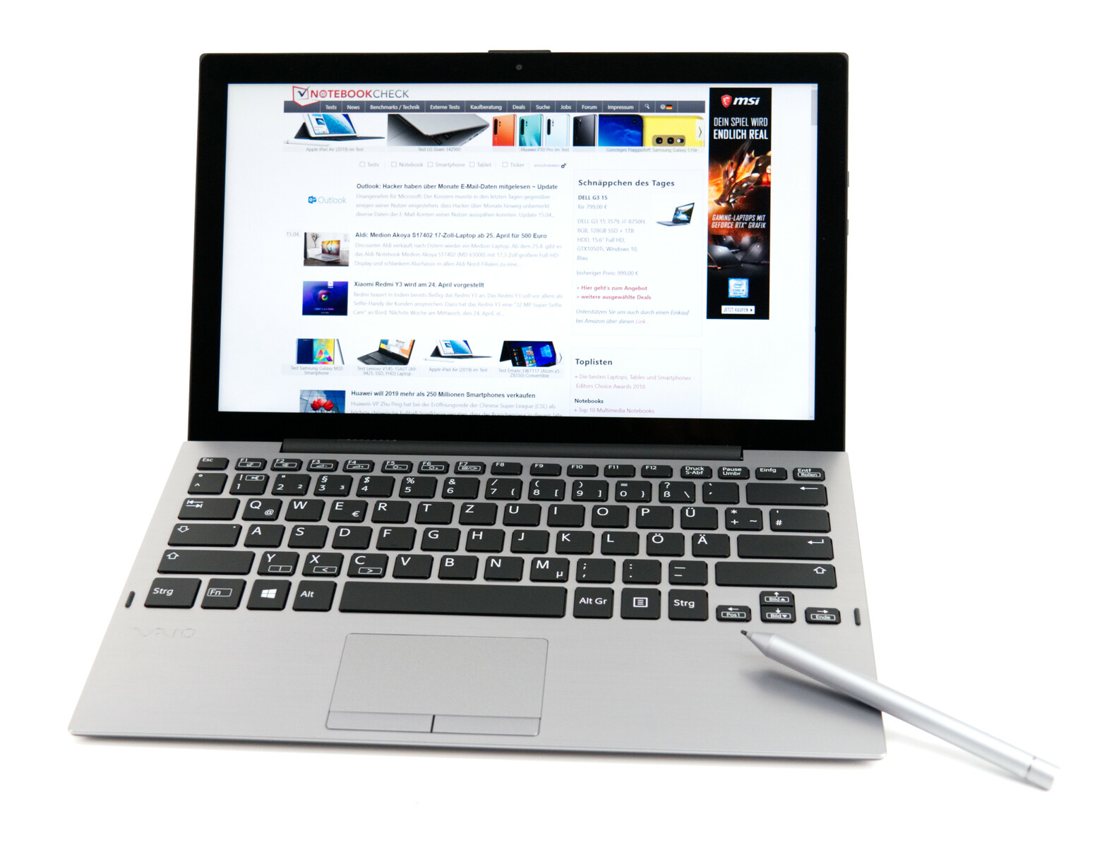 Notebookcheck's Top 10 Convertibles (2-in-1 Tablets) - NotebookCheck