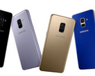 The Galaxy A8+ (2018) was launched earlier in the year. (Source: Samsung)