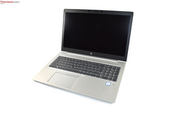 HP EliteBook 850 G5, test unit provided by HP
