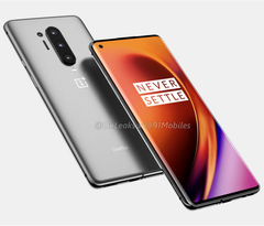 Leaked renders of the OnePlus 8 Pro. Image via OnLeaks and 91Mobile.