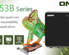 QNAP TS-x53B series NAS available with 2, 4, and 6 bays, all with Intel Celeron J455 processo