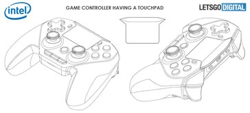 The images found in Intel's game-controller patent. (Source: LetsGoDigital)