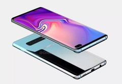 Renders of the Galaxy S10+. (Source: OnLeaks)