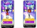 Bitmoji Party Snapchat mobile game, Snap Games now live early April 2019 (Source: Snapchat on YouTube)