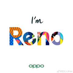 A new promotional poster for the OPPO Reno line. (Source: Weibo)