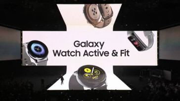 Some more images of the new Galaxy wearables. (Source: Samsung)