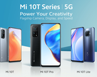 The Mi 10T series will start at £199 from October 26. (Image source: Xiaomi)