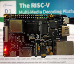 The Allwinner D1-based SBC, a single-board computer with a RISC-V CPU. (All images via CNX Software)