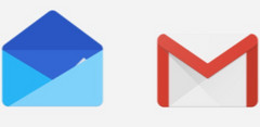 Google Inbox and Gmail logos, Inbox app going down in March 2019 (Source: Google - The Keyword)
