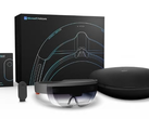 The Commercial Suite version of Microsoft's HoloLens costs US$5,000 per unit. (Source: Microsoft)