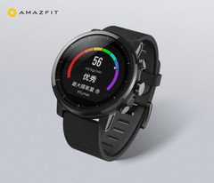 The Huami AmazFit Smart Sports Watch 2 features a 1.34-inch color display protected by a 2.5D sapphire front piece. (Source: Xiaomi)