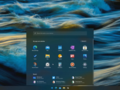 A shot of the Windows 10X UI. (Source: YouTube)