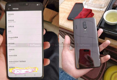 Alleged OnePlus 6 hands-on images. (Source: OnPhones)