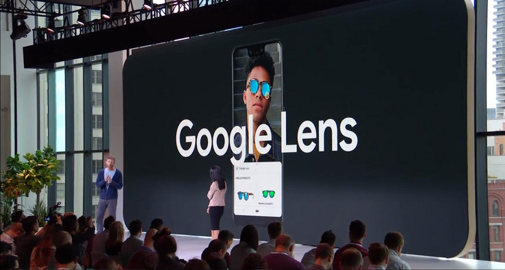 The Pixel 3 line will be the first to feature the new, more extensive form of Google Lens. (Source: Google)