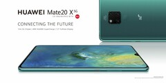 The Mate 20 X now has a 5G variant set to go on sale in Europe next month. (Source: Huawei)